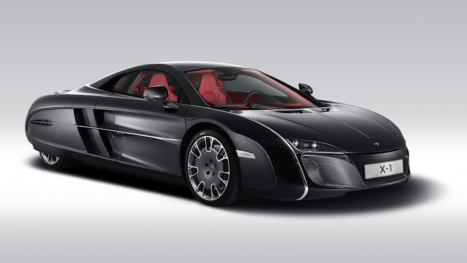 Mclaren X 1 >> Mclaren X 1 Concept Created As One Off For Anonymous Client Autoblog