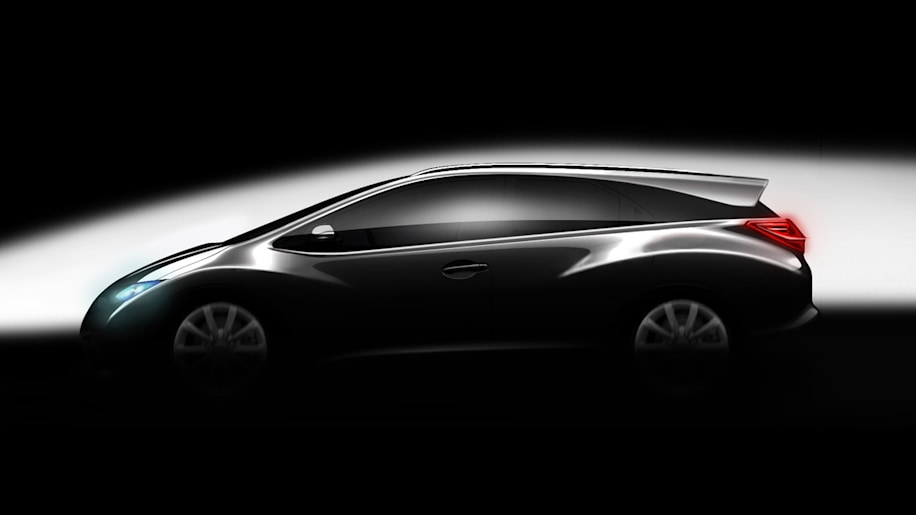 Honda Civic station wagon teaser
