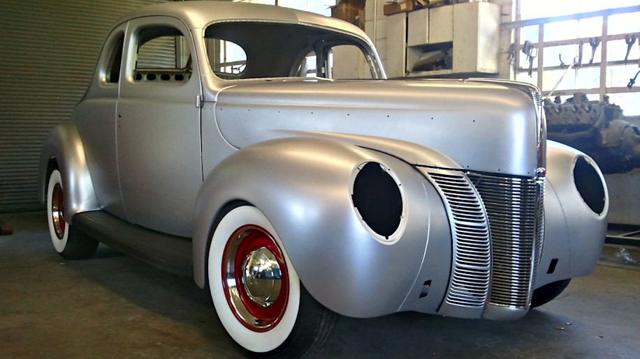 Ford Restoration Parts 1940 Ford Coupe body shell