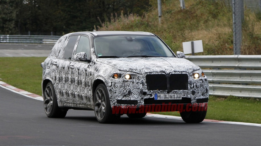Bmw X5 M Spy Shots Testing On The Ring Photo Gallery