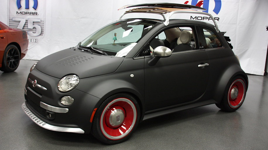 Mopar Fiat 500 Sema 2012 Photo Gallery Autoblog