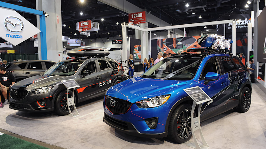 Mazda Brings Trio Of Tricked Out Cx 5s To Vegas Autoblog