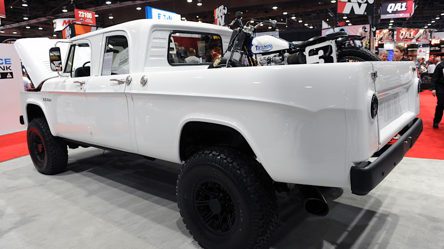 ICON Dodge D200 Reformer Series pickup is an unstoppable rebel force