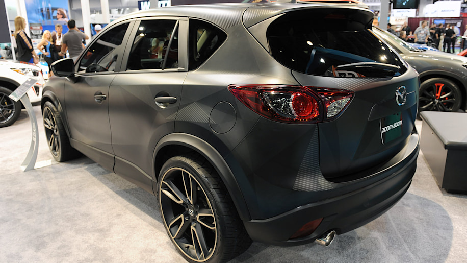 mazda brings trio of tricked out cx 5s to vegas autoblog. Black Bedroom Furniture Sets. Home Design Ideas