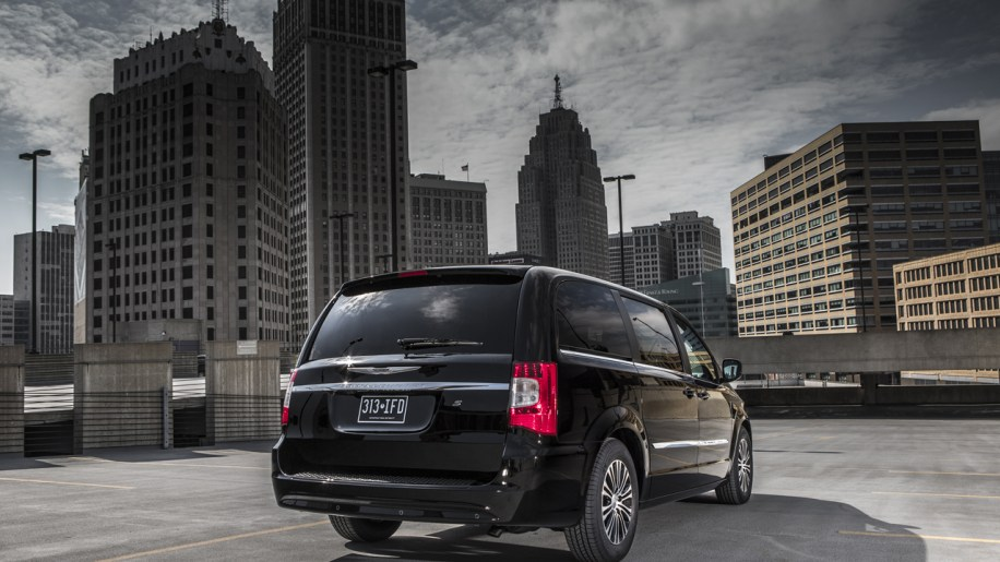 2013 Chrysler Town And Country S Is The Van In Black