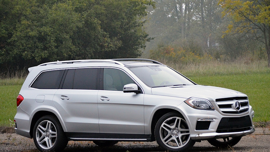2013 mercedes benz gl550 autoblog for Mercedes benz gl 2013