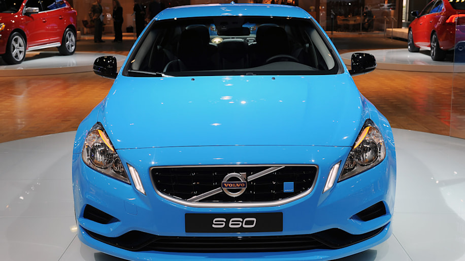 Volvo S60 Polestar Concept finally spotted in the flesh - Autoblog