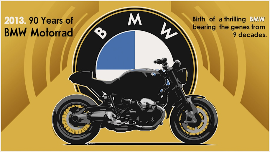 BMW Motorrad 90th Anniversary model teaser