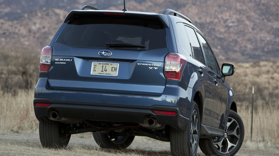 Subaru Forester Named Motor Trend Suv Of The Year W Video