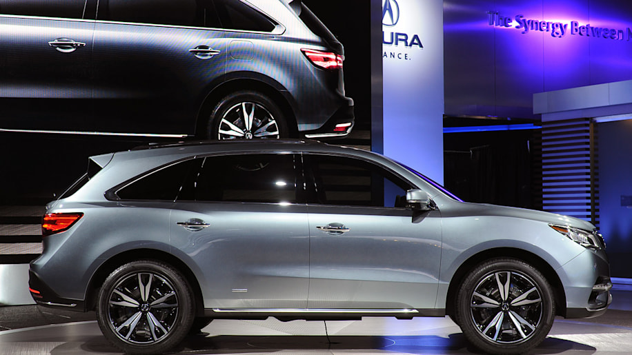 Acura MDX Prototype: Detroit 2013 Photo Gallery - Autoblog