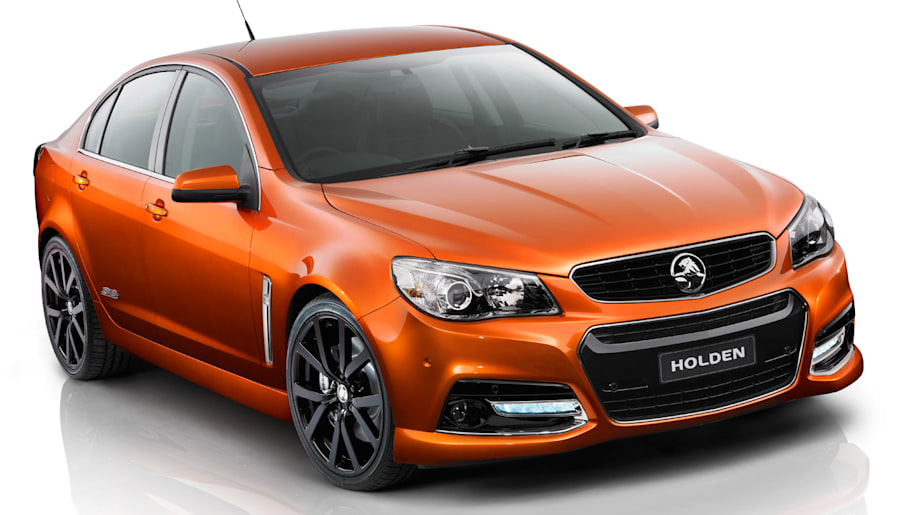 Chevrolet SS previewed by Holden VF Commodore SS V show car  Autoblog