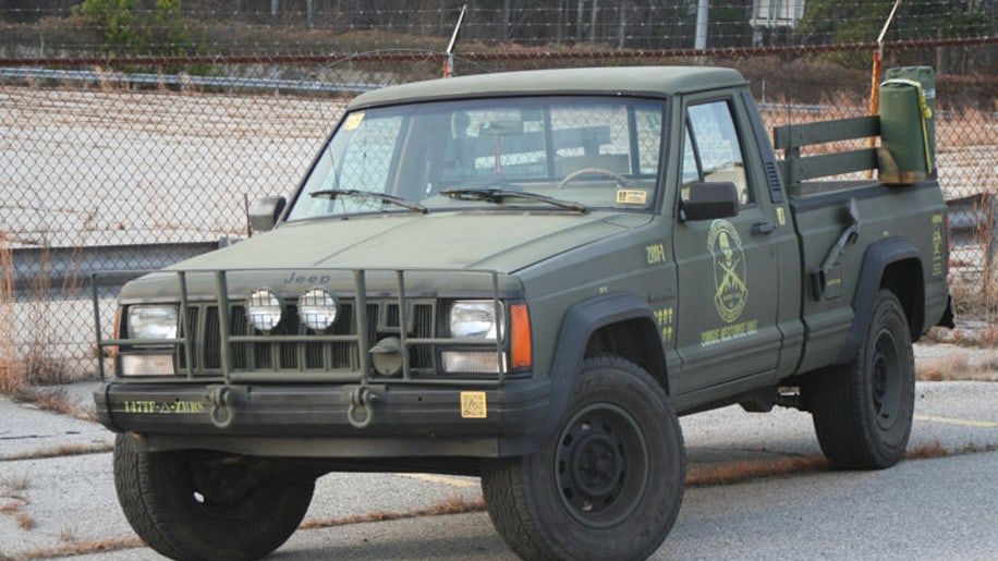 Ebay Find Of The Day Jeep Comanche Zombie Response Unit