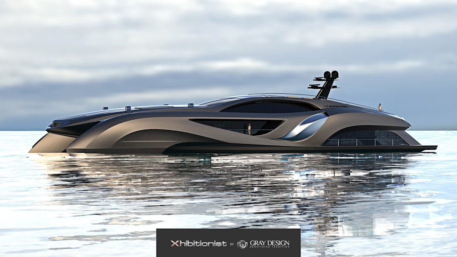 Gray Designs Latest Auto Influenced Yacht Dubbed