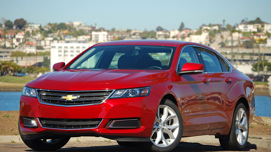 201415 Chevy Impala recalled over airbag fault  Autoblog