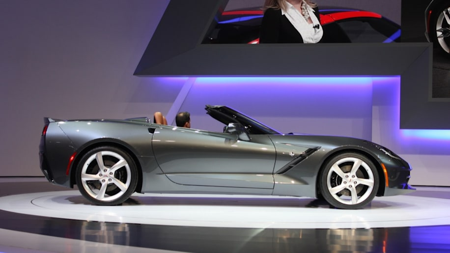 First Production 2014 Corvette Stingray Convertible