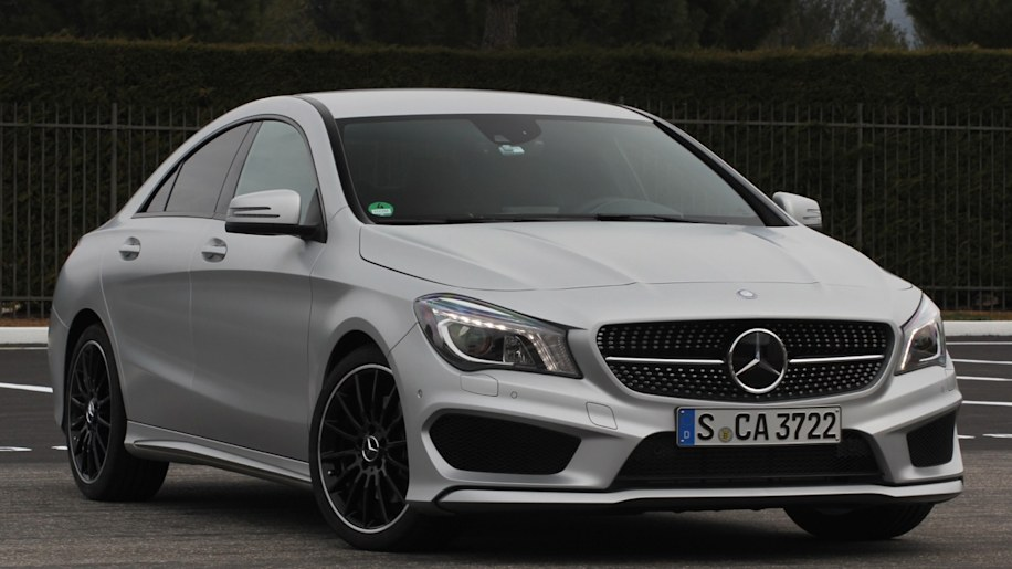 2014 mercedes benz cla 250 sport autoblog. Black Bedroom Furniture Sets. Home Design Ideas