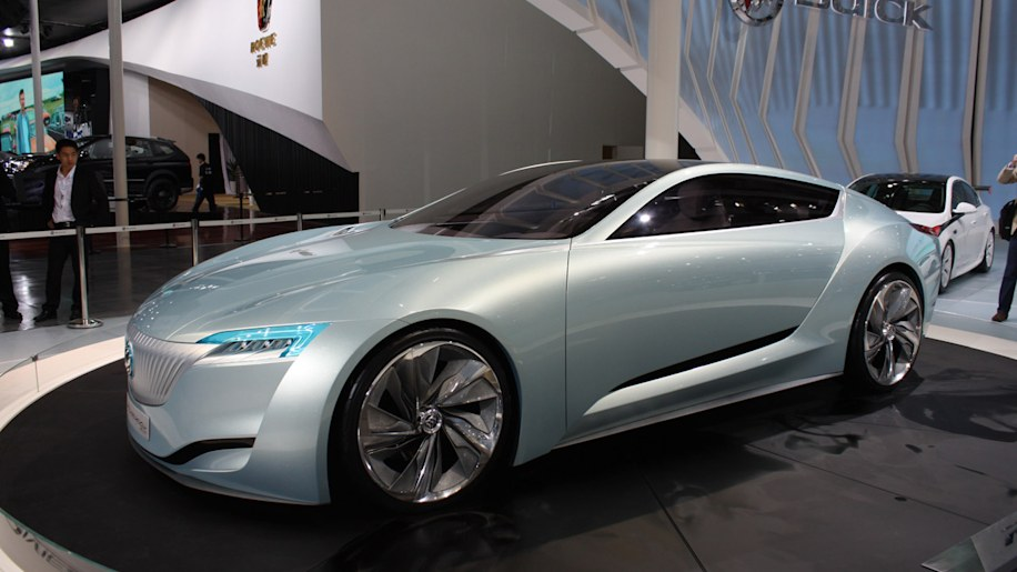 Buick Riviera Concept hits the floor in Shanghai