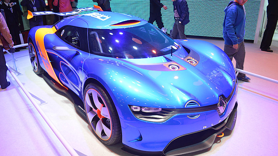 Renault Alpine A110-50 Concept makes fast friends at Shanghai show