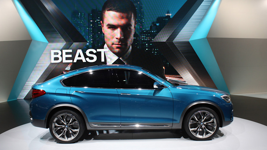 BMW X4 hatches its fastback shape in Shanghai