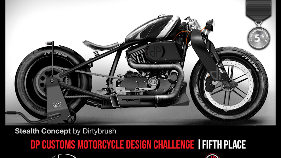 Local Motors Picks First Ever Winner Of Motorcycle Design