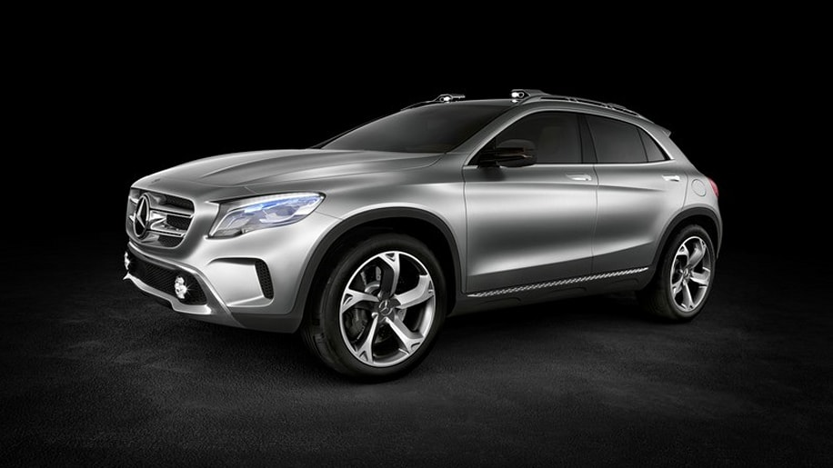 Mercedes benz gla concept crossover leaked ahead of for Mercedes benz gla crossover