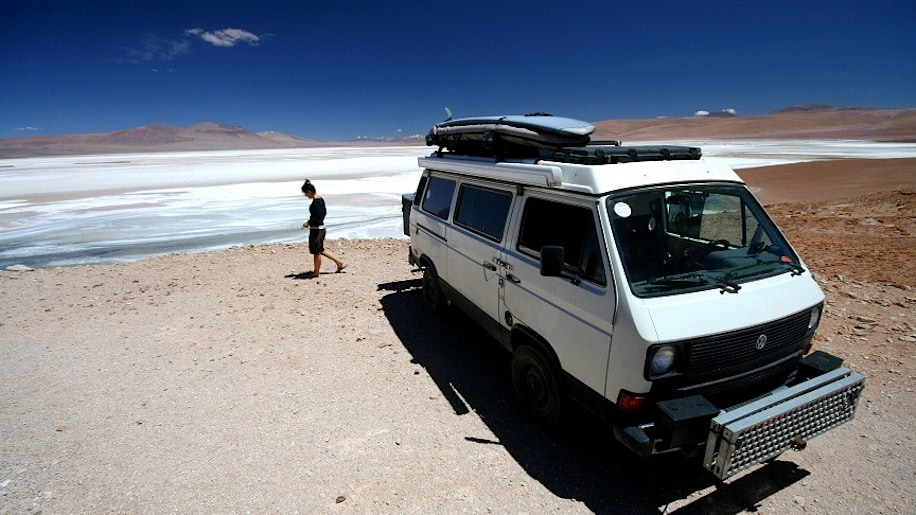 Help a couple drive their 1984 Vanagon around the world