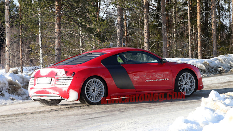 Is the Audi R8 E-Tron project back on again?