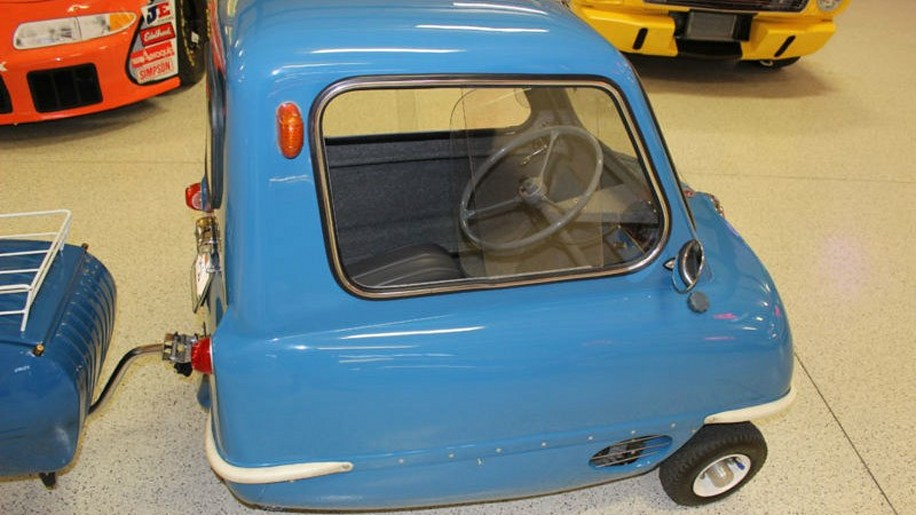 1963 peel p50 replica on ebay motors photo gallery autoblog. Black Bedroom Furniture Sets. Home Design Ideas