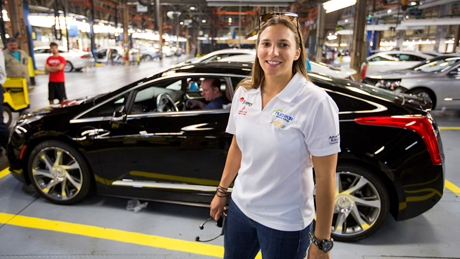 First Cadillac ELR rolls off the line