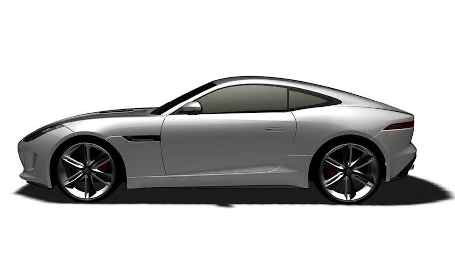 jaguar f type coupe patent images exposed 4 cyl coming autoblog. Black Bedroom Furniture Sets. Home Design Ideas