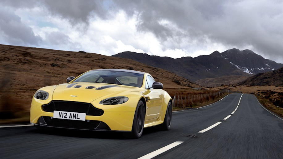 Aston Martin V12 Vantage S hits 60 mph in 3.7 seconds, priced at $184,995