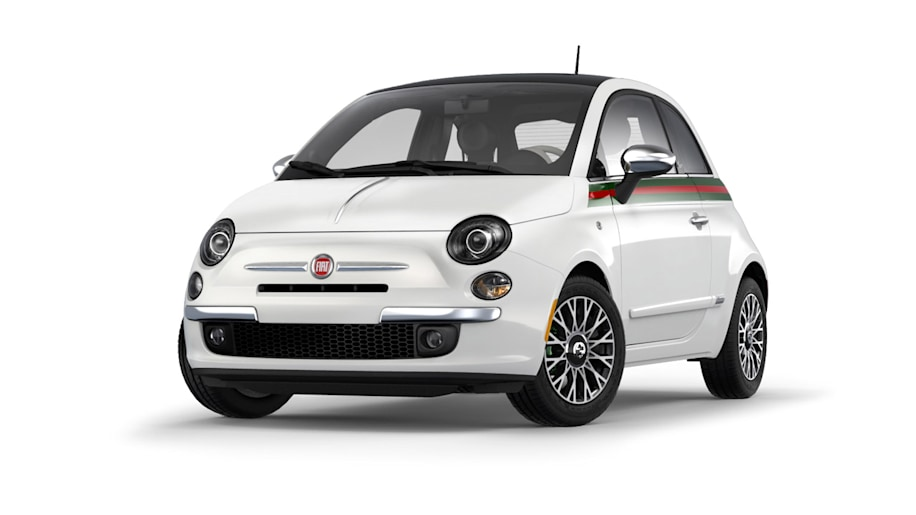 fiat 500 gucci edition returns priced from 23 750 autoblog. Black Bedroom Furniture Sets. Home Design Ideas
