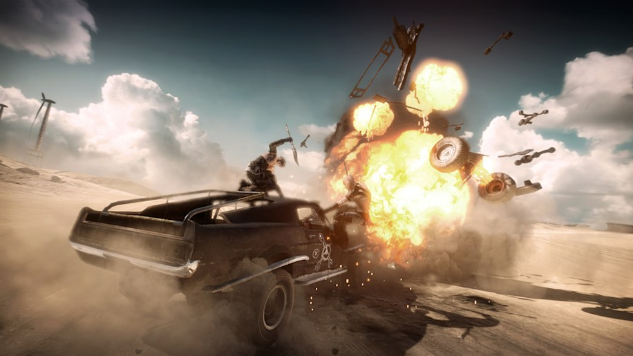 E3: Mad Max will bring the post-apocalypse to Playstation 4