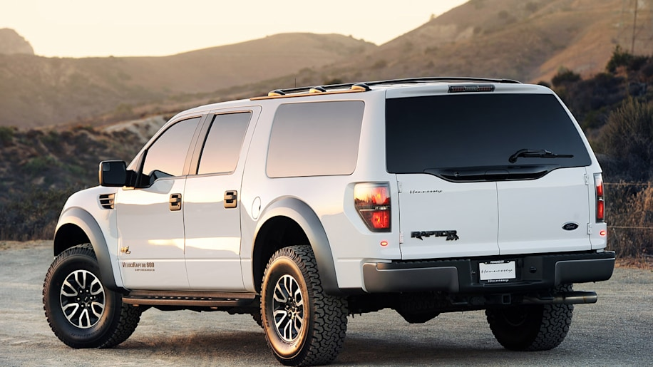 Hennessey Velociraptor Suv First Drive Photo Gallery
