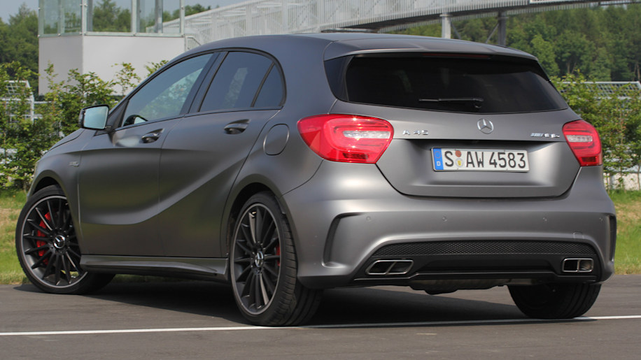 2013 mercedes a45 amg 4matic w video autoblog for Mercedes benz a service checklist