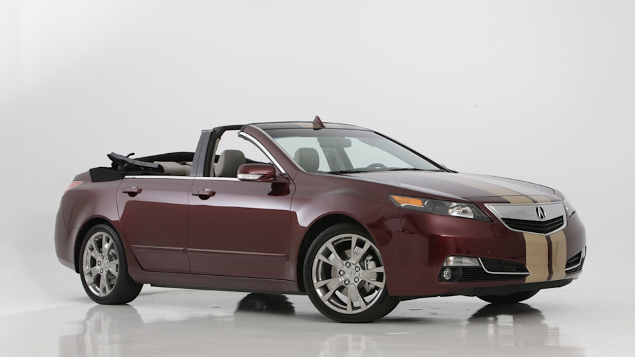 Acura TL Gets Its Top Chopped Autoblog - Acura tl competitors