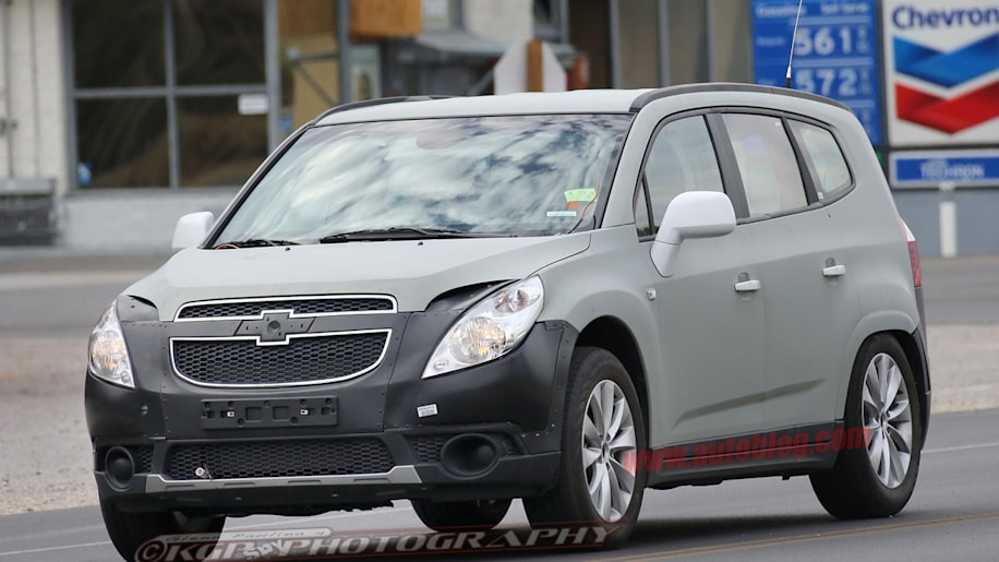 chevrolet orlando test mule for new hybrid photo gallery