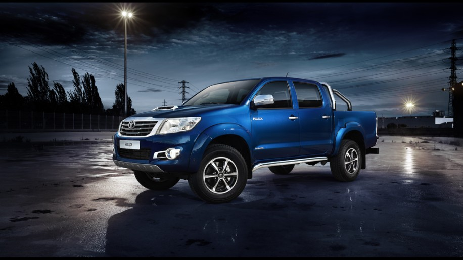 Toyota Hilux Invincible sounds as robust as it looks