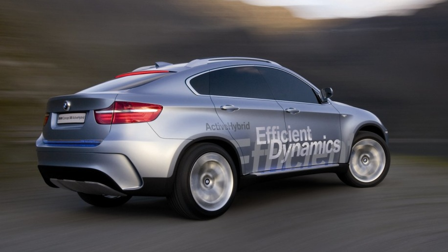 Frankfurt 2007: BMW X6 launch completes the Two-Mode hybrid family ...