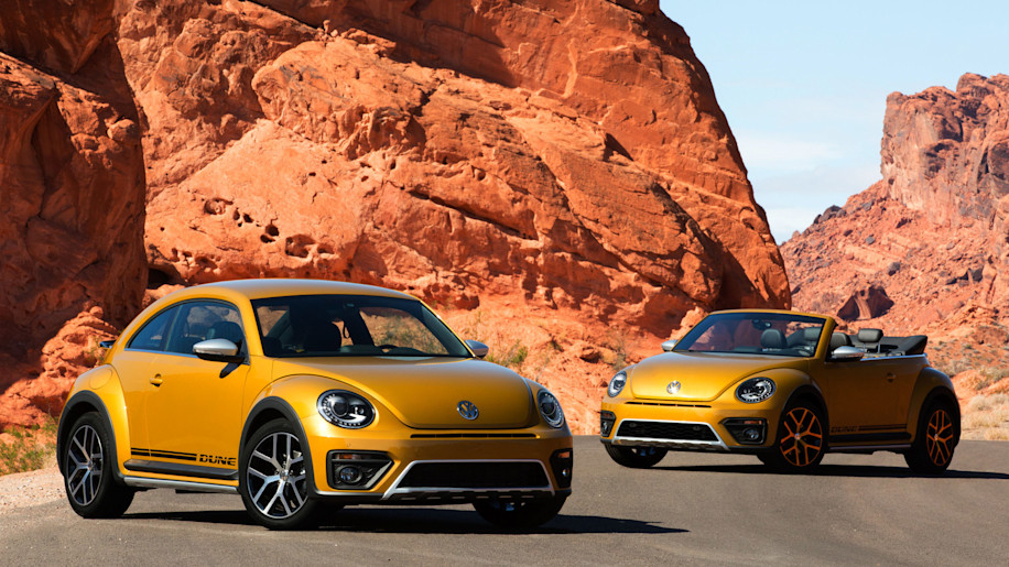 vw beetle dune coupe and convertible