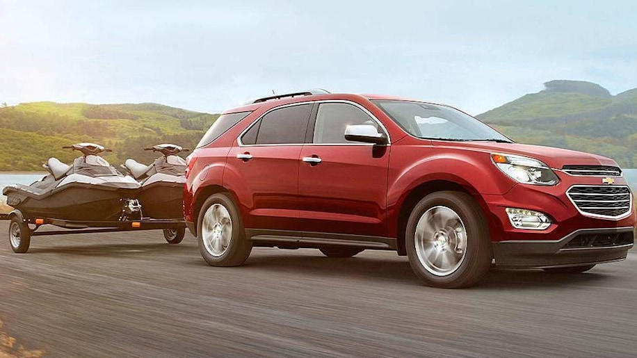 Chevy Equinox towing
