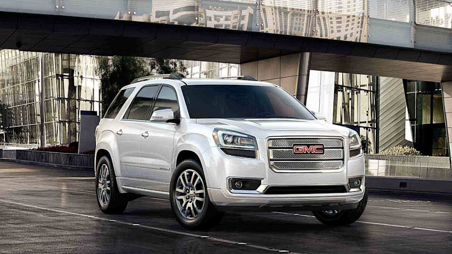 GMC Acadia in white