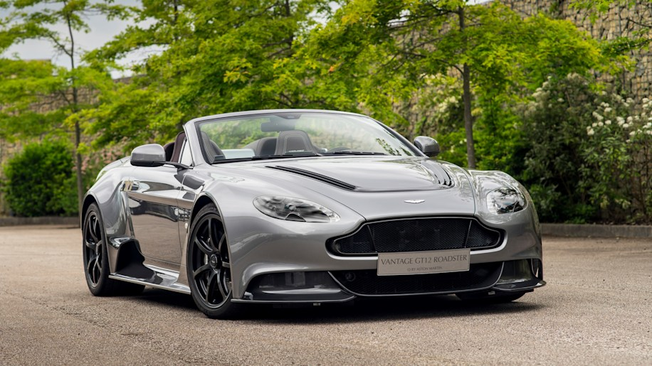 Aston Martin Vantage GT12 by Q front