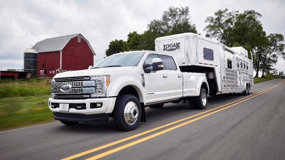 2017 Ford F-Series Super Duty Front Exterior