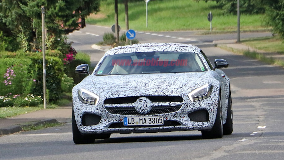 2018 Mercedes-AMG GT C Roadster Front Exterior