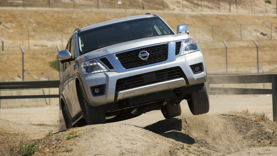 2017 Nissan Armada off-road