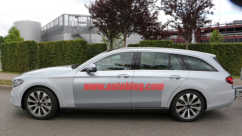 mercedes-benz e class all terrain spy photo side