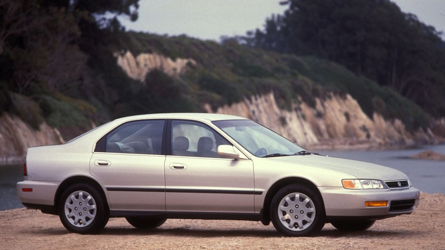 1996 Honda Accord Sedan Side Exterior