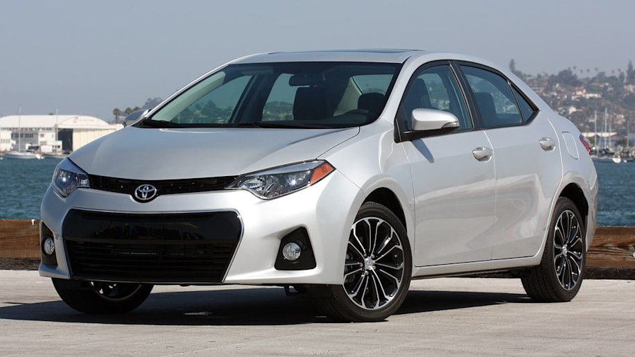 2014 Toyota Corolla Exterior Front