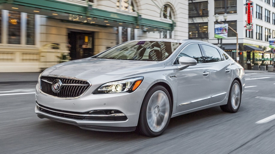 2017 Buick LaCrosse driving